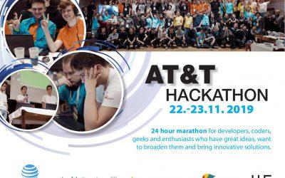 Náš tým se připravuje na AT&T Hackathon